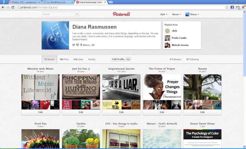 Diana Pinterest