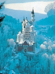 a caslte in Germany from Pinterest