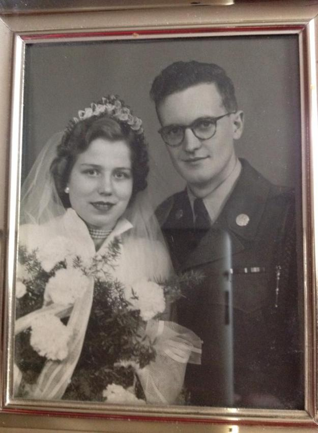 Oma and Opa 1954