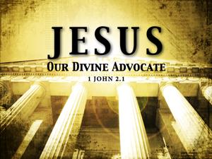 Jesus is my advocate