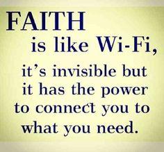 faith and wifi