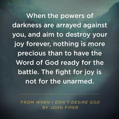 fight for joy