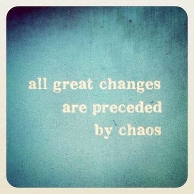Preceded by Chaos