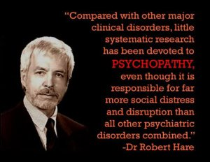 Psychopathy causes more social social distress and disruption than all other mental disorders combined.