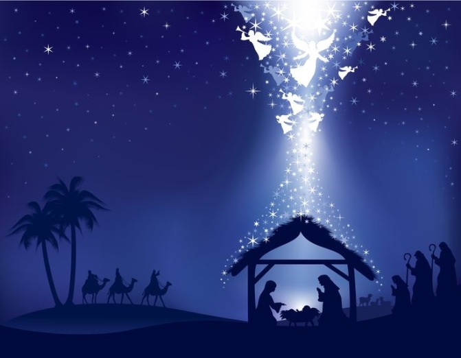 Let the Power of God Overshadow You This Christmas