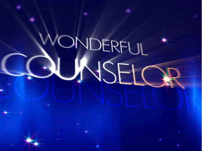 Jesus the Wonderful Counselor