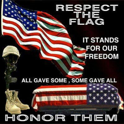 honor the flag