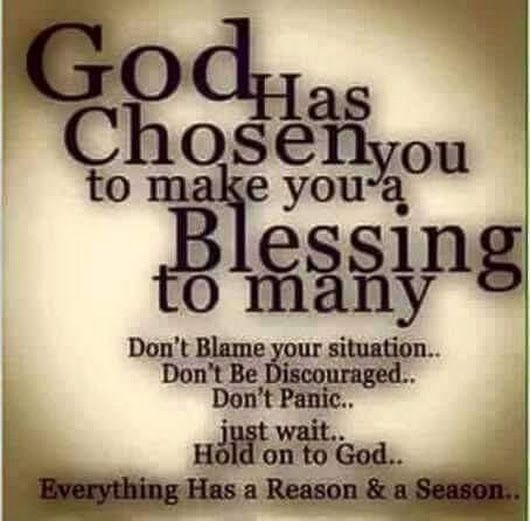 God is Looking to Bless You and Your Family