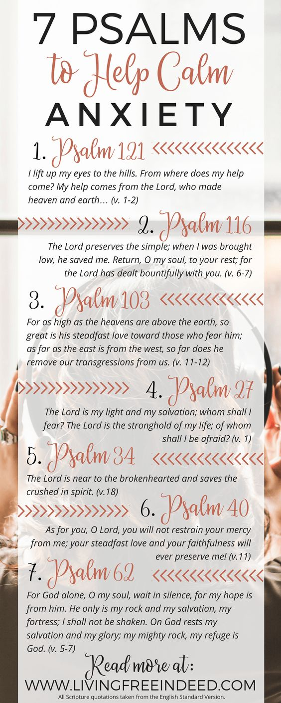 anxiety psalms