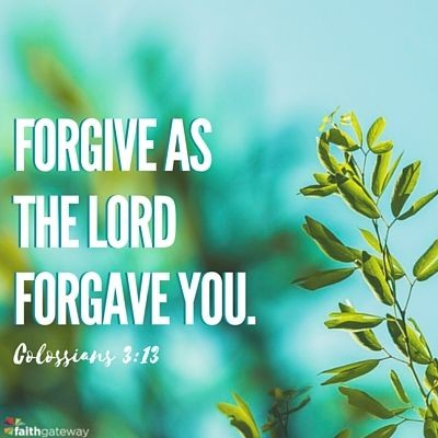 Why Forgiveness Matters