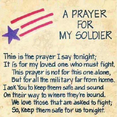 deployment prayers